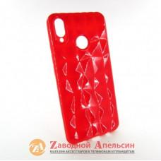 Huawei P Smart plus (INE-LX1) Защитный чехол Prism red