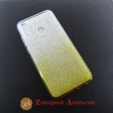 Huawei P20 Lite (ANE-LX1) чехол блестки двухцветный
