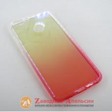 Huawei P Smart (FIG-LX1) Двухцветный чехол Colorful