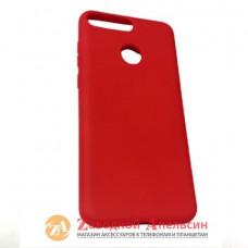 Huawei Y6 2018 (AUM-L41) honor 7C (AUM-L41) чехол Colorful red