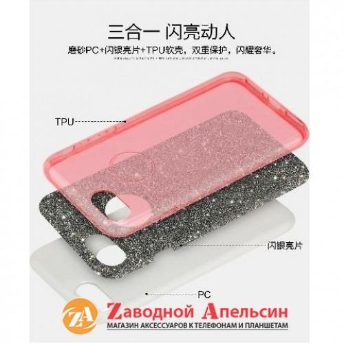 Huawei P8 P9 Lite 2017 PRA-LA1 PRA-LX1 Honor 8 Nova GR3 чехол блестки