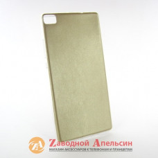 Huawei P8 чехол накладка кожа