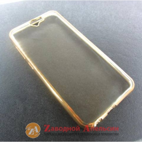 HTC One A9 чехол Eleсtroplating gold