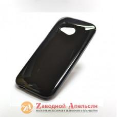 HTC One mini 2 M8 силиконовый чехол Cover black
