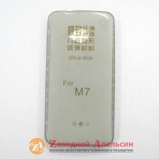 HTC One M7 801e ультратонкий чехол 1