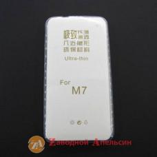 HTC One M7 801e ультратонкий  чехол