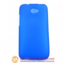 HTC Desire 601 защитный чехол Cover blue