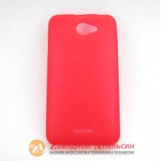 HTC Desire 516 защитный чехол Cover red