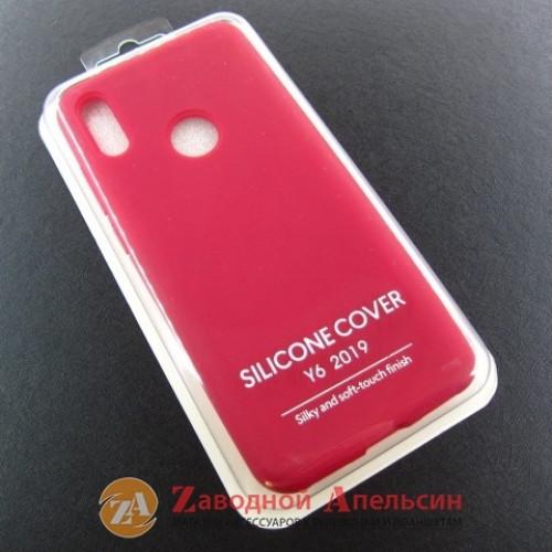 Huawei Y6 2019 honor 8A Y6s (JAT-LX1) чехол Colorful красный