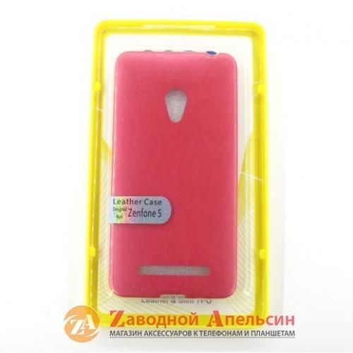 Asus Zenfone 5 чехол накладка кожа