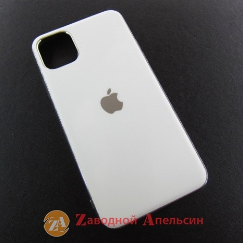 Iphone 11 pro max матовый чехол Electroplate ivory