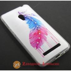 Asus Zenfone 5 чехол стразы
