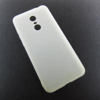 Xiaomi Redmi 5 plus 5+ чехол белый soft touch