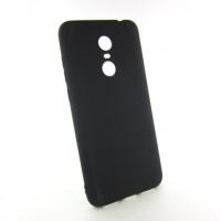 Xiaomi Redmi 5 plus 5+ чехол черный soft touch