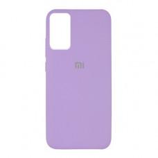 Xiaomi Redmi Note 10 pro чехол лиловый Silicone Cover lilac