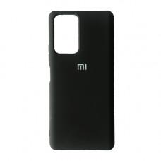 Xiaomi Redmi Note 10 10S чехол черный Silicone Cover black
