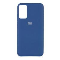Xiaomi Redmi Note 10 10S чехол синий Silicone Cover navy
