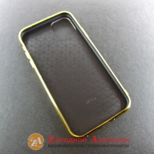 Iphone 11 разноцветный чехол Carbon laser
