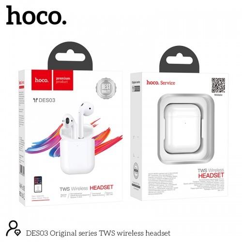 Стерео гарнитура bluetooth hoco DES03 wireless