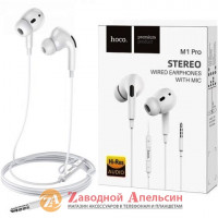 Гарнитура Наушники Hoco M1 Pro 3,5mm Hi-Res audio
